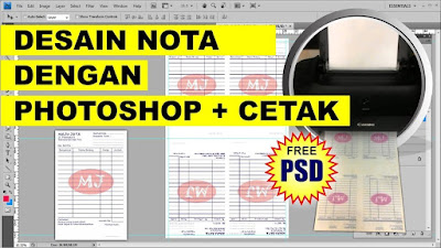 Desain Nota PSD