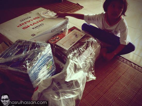 Pengalaman beli belah online Lazada Malaysia