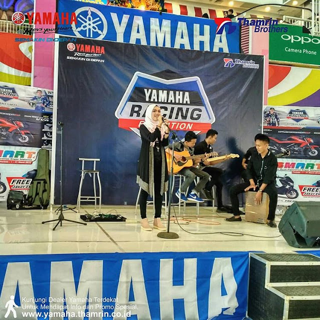 Kontes Yamaha Racing Exhibition Palembang