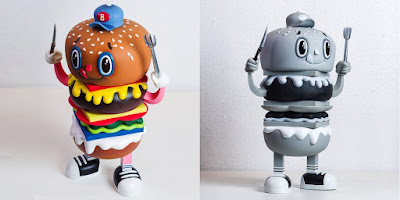 The BURGY Vinyl Figure by Christian Tamondong x Secret Fresh Gallery x ToyQube