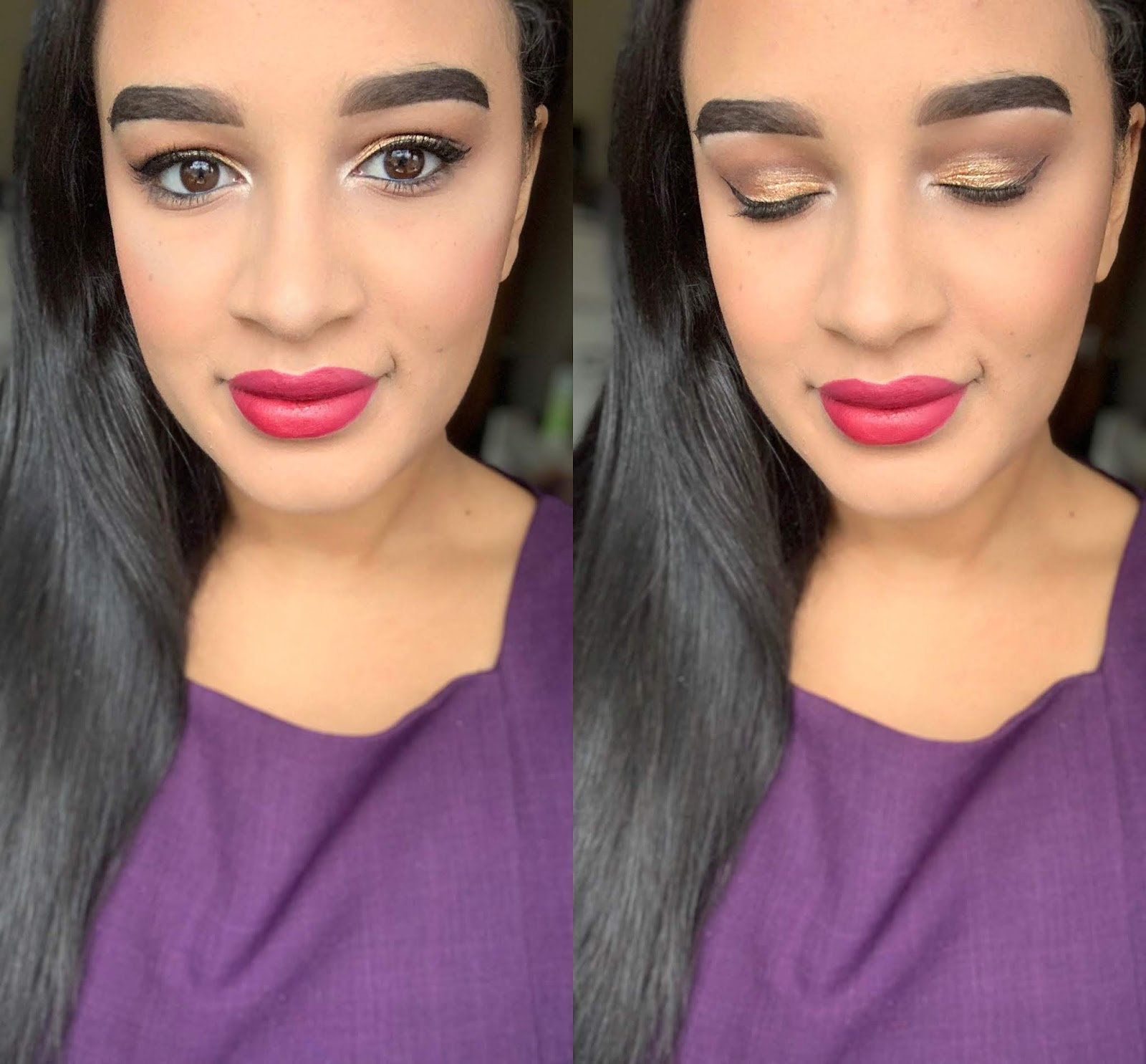 Simple Makeup Look Perfect For Christmas
