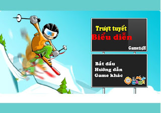 Chơi game trượt tuyết biểu diễn hấp dẫn nhất