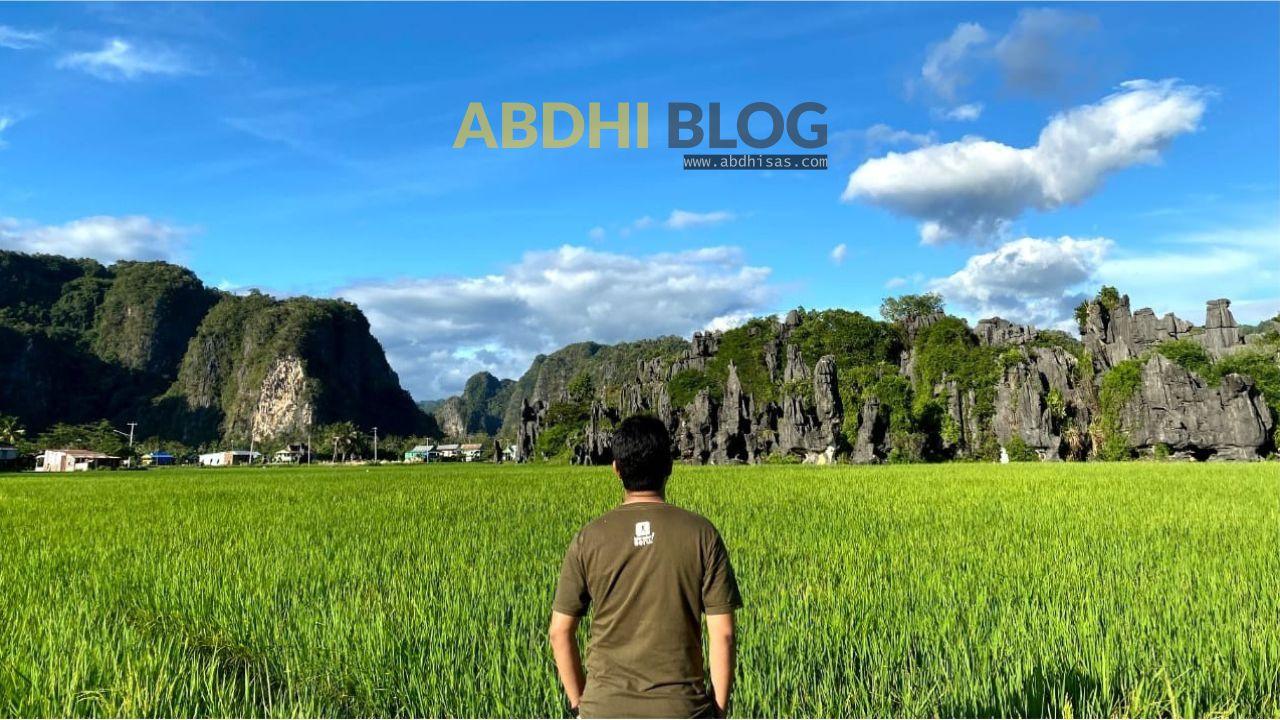 Kamar Batu Alami Sisi Lain Hutan Batu Wisata Rammang Rammang Maros Abdhi Blog