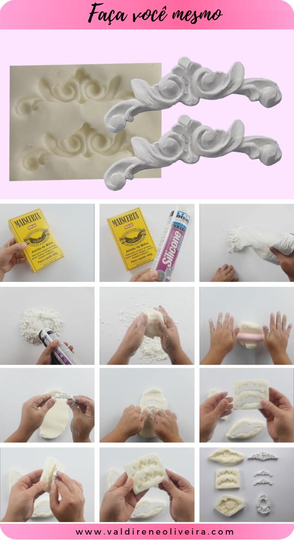 faça você molde de silicone caseiro