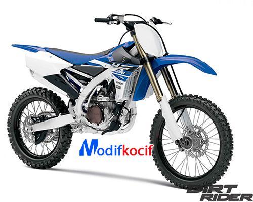 Motor Trail Yamaha YZS
