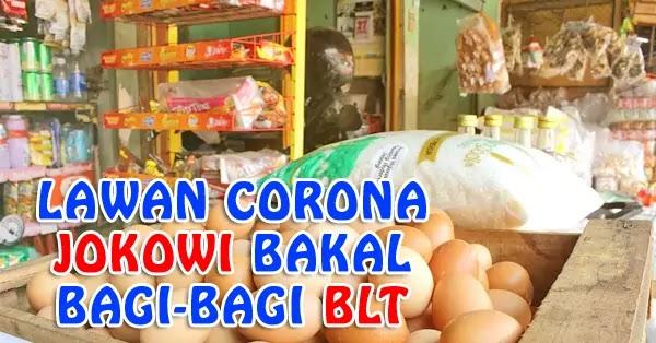 Tiru SBY, Jokowi Bakal Bagikan BLT Untuk Lawan Corona