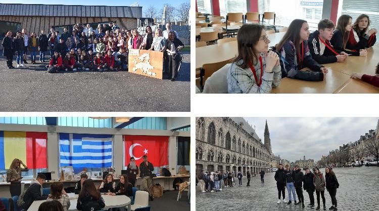Μαθητές και εκπαιδευτικοί του Λυκείου Τυχερού στο Βέλγιο με πρόγραμμα Erasmus+