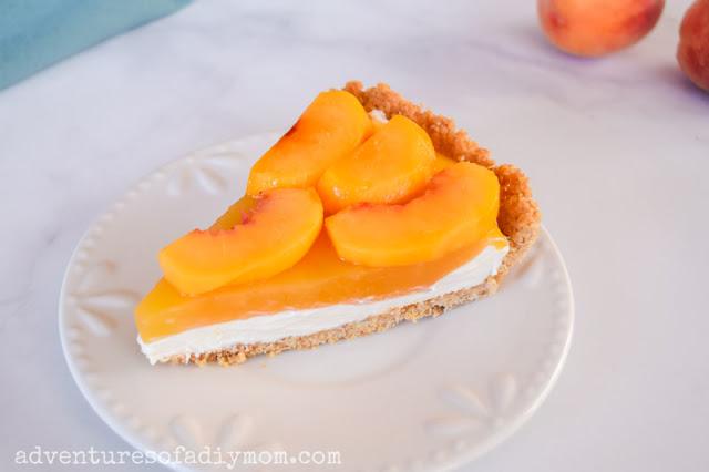 no-bake peach pie recipe