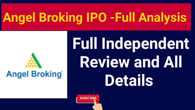 Angel Broking IPO - Full Analysis