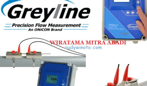 Greyline TTFM 6.1 Clamp On Flow Meter ulrasonic