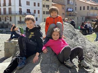 Mis tres hijos: Itzan, Jeran e Íryan