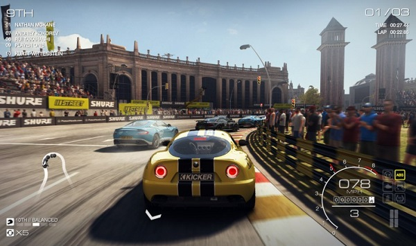 GRID Autosport racing game for iPhone and iPad released