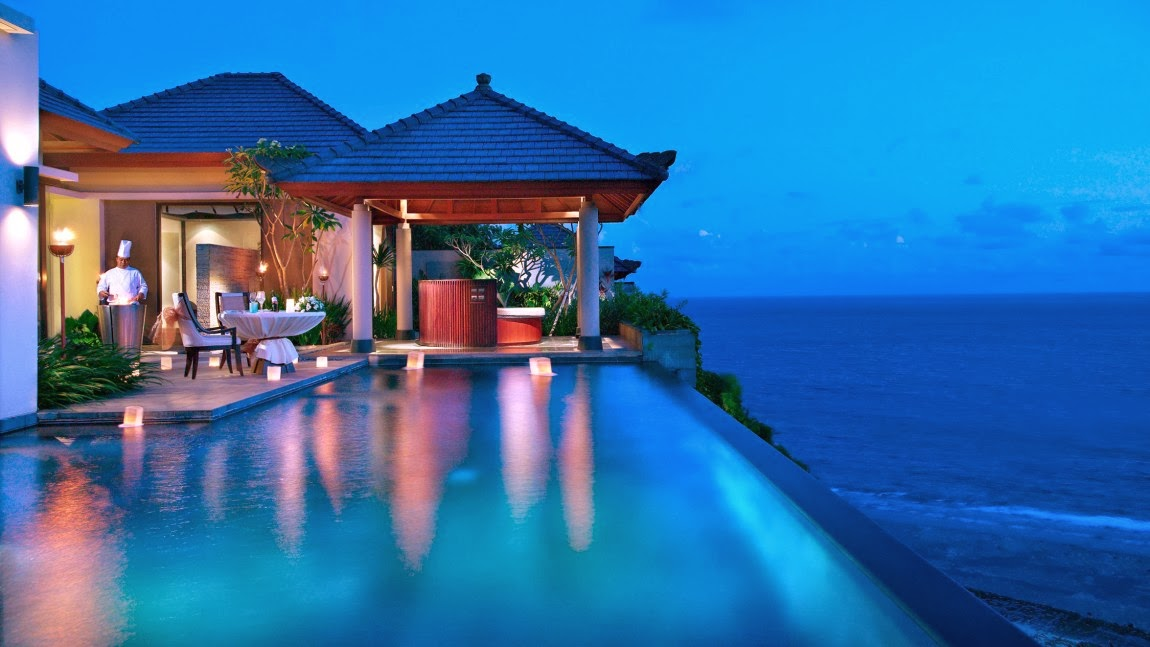 Magnificent resort with a beach view - Banyan Tree Ungasan ...