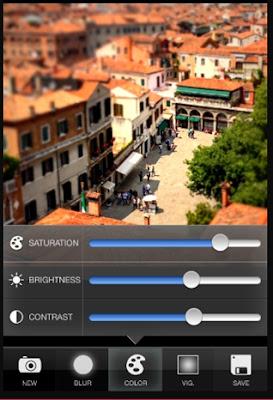 Cara Memakai Smartphone Untuk Foto Tilt-Shift