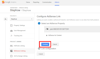 Link Adsense With Google Analytics - 5