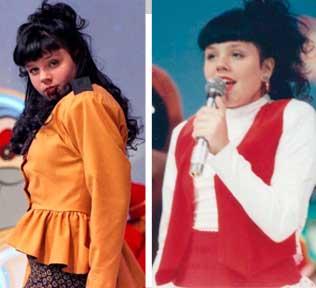 Simony cantora em 1989