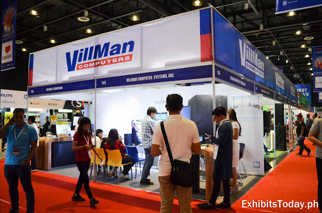 Villman trade show Pavilion