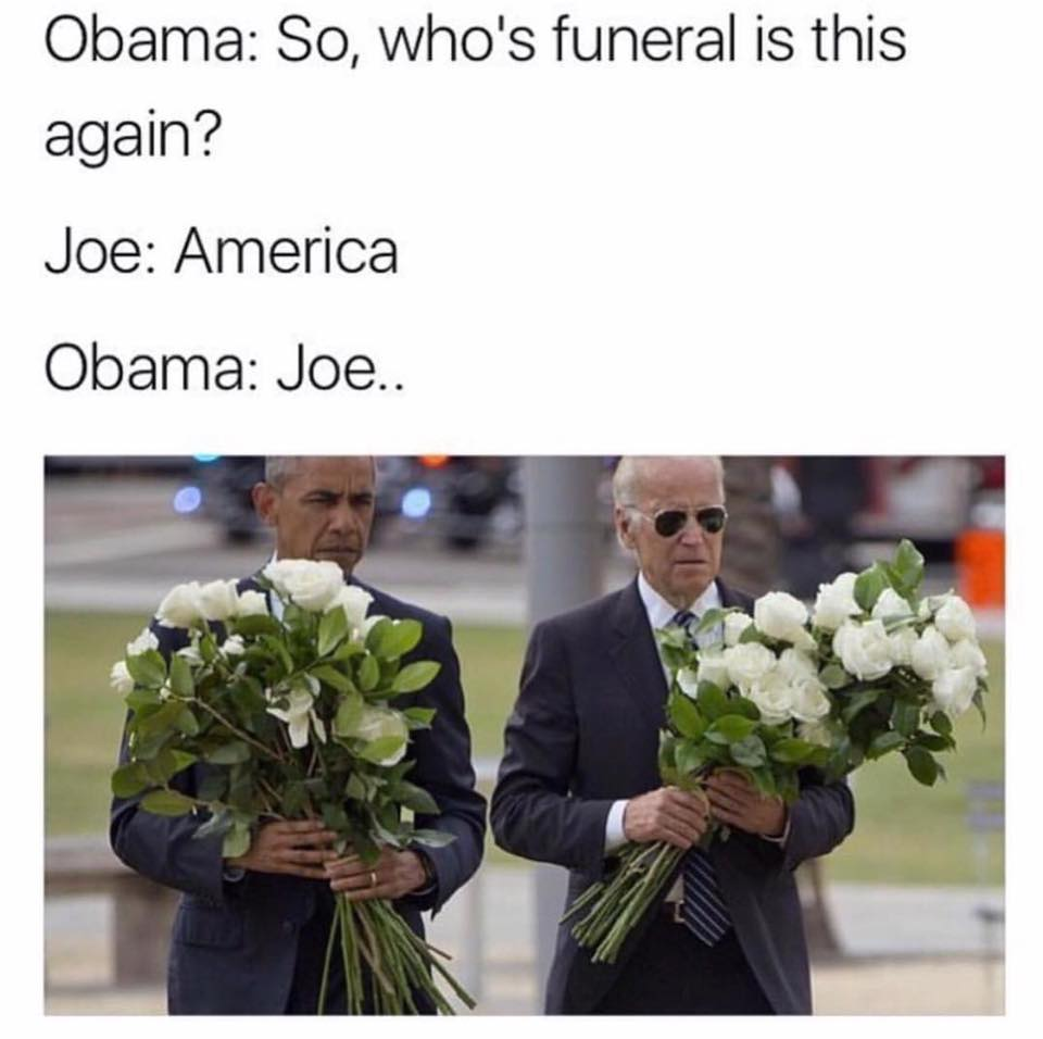 So, who's funeral is this again?