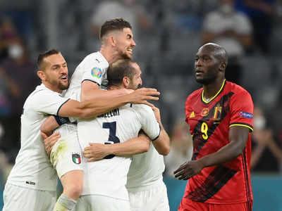 Italy v Belgium