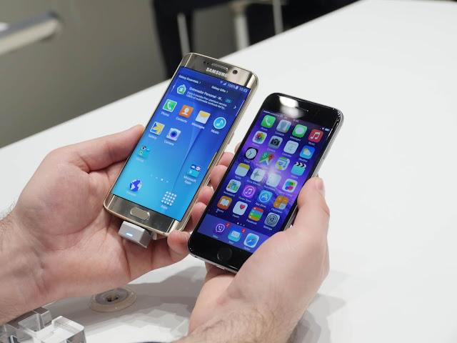 تحدي بين iPhone 6s plus و Galaxy S7 edge في الفريزر مع الكوكاكولا 9 ساعات !