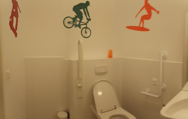 """""""We Need To Decorate The Toilet For The Disabled."""" """"Say No More"""""""
