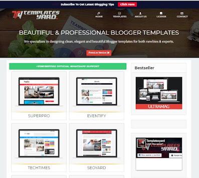 Free html blogger templates 2021