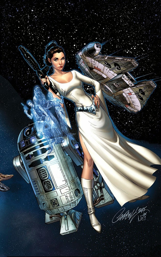 princess leia #1 variant cover