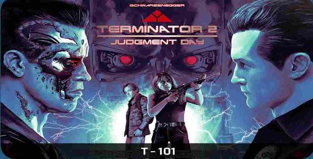 What is the model of Arnold Schwarzenegger in Terminator 2?