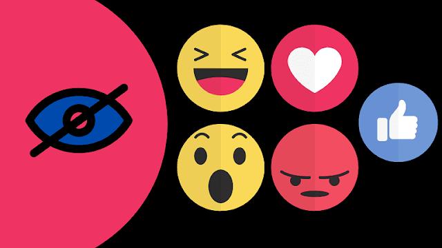 كيفية إخفاء الاعجابات والتفاعلات في الفيس بوك
