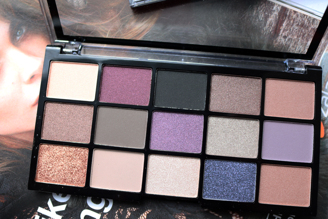 MUA 15 Shade Eyeshadow Palette Twilight Delight Review & Swatches