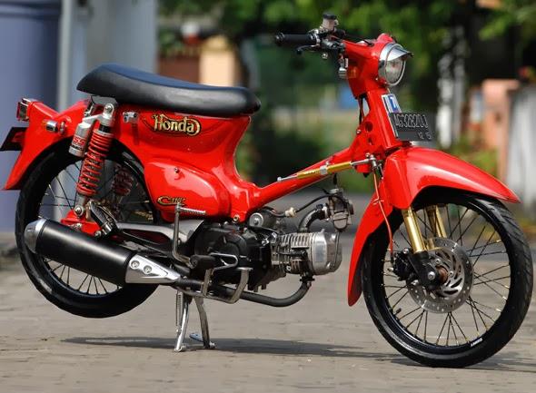 Honda C70 Modifikasi