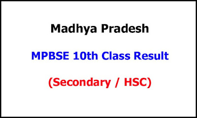 Madhya Pradesh 10th Class Exam Result