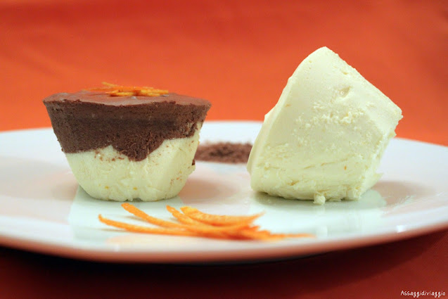 Bavarese cioccolato&arancia