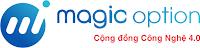 Magic Option: Kênh kiếm tiền thông minh 4.0 với công nghệ BlockChain!