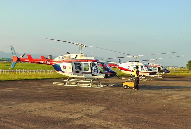 Heli Tours of Sabah