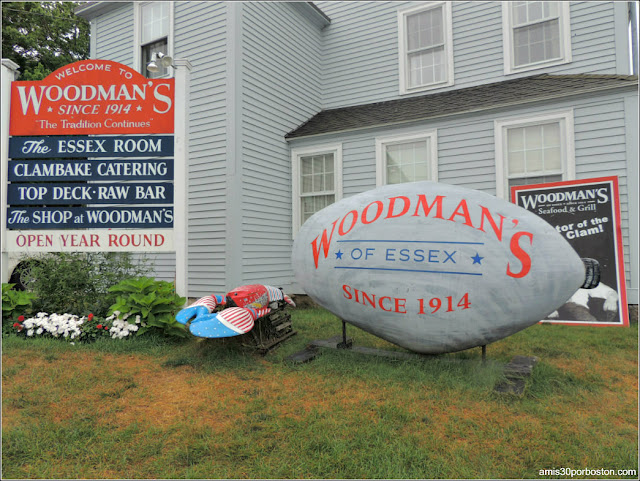 Marisquería Woodman's of Essex, Massachusetts