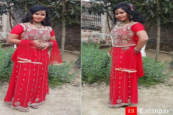 भोजपुरी अभिनेत्री अंजलि श्रीवास्तव