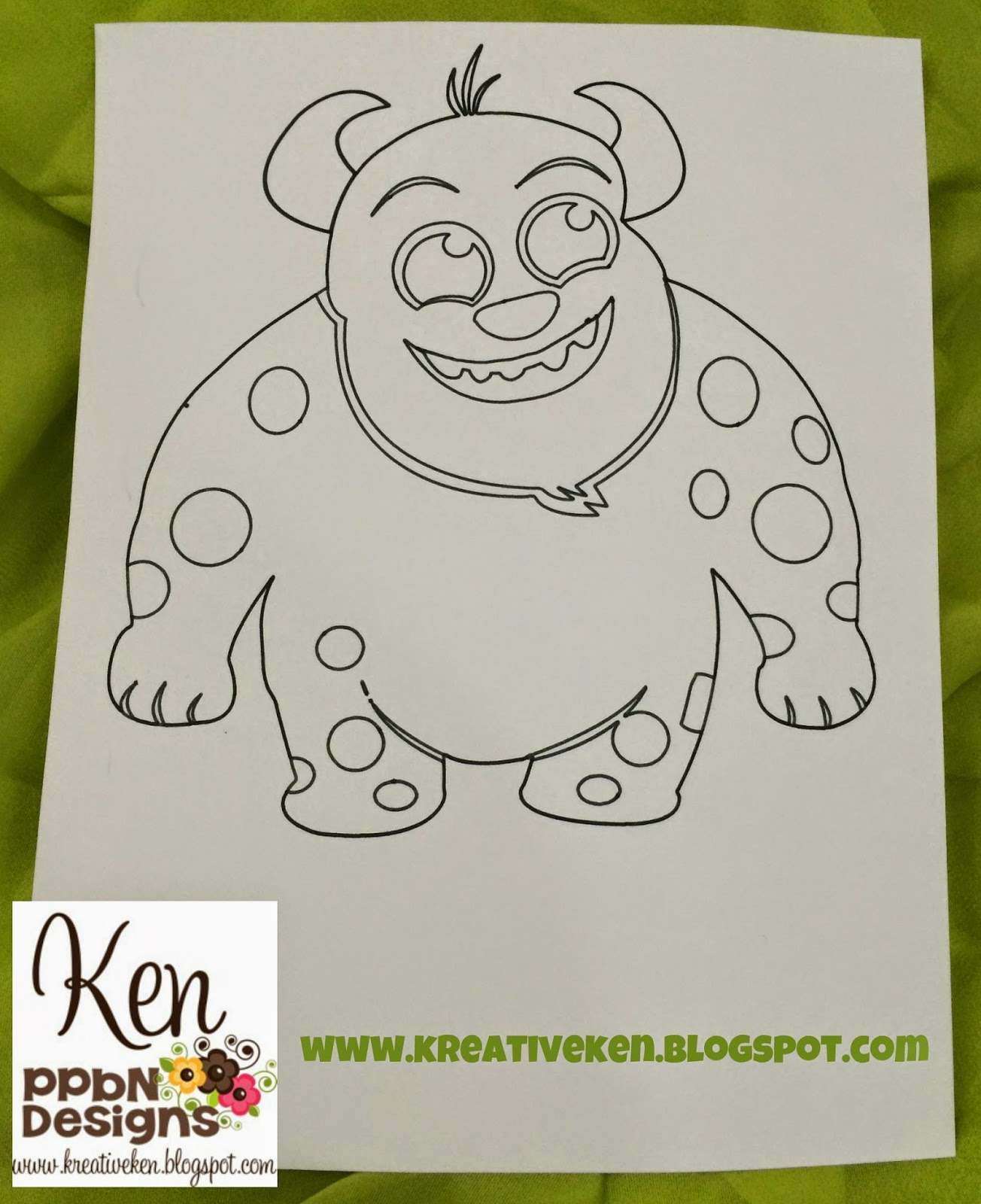 Diy Coloring Pages With The Cricut Explore Ken S Kreations