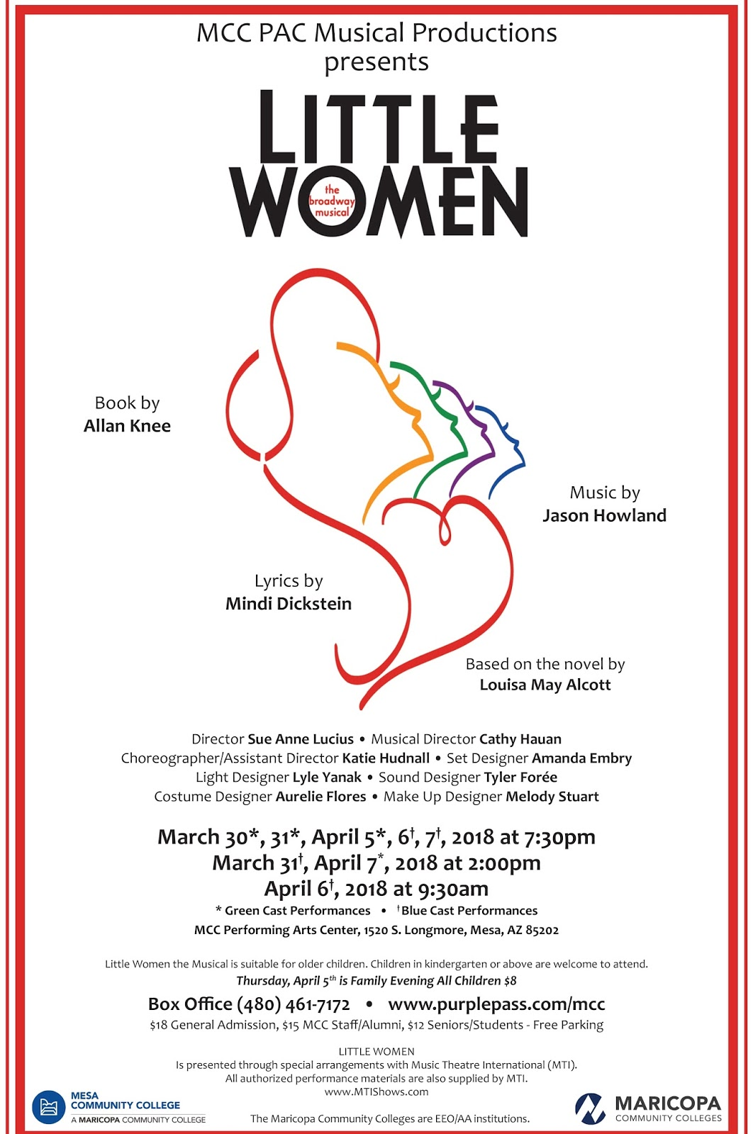 PHX Stages: LITTLE WOMEN - Mesa Community College PAC