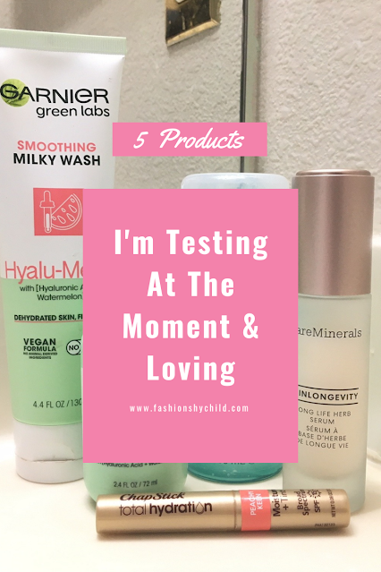 5 Products I'm Testing At The Moment & Loving