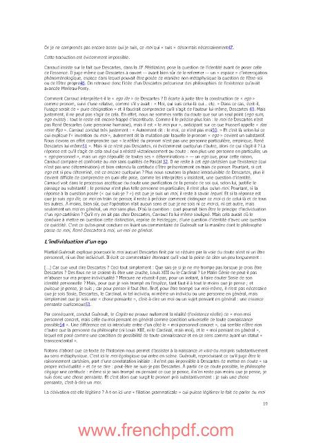 Philosophie: Le Parler de Soi par Vincent Descombes PDF Gratuit