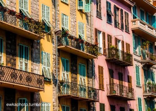 Colores de Niza, Riviera, Francia