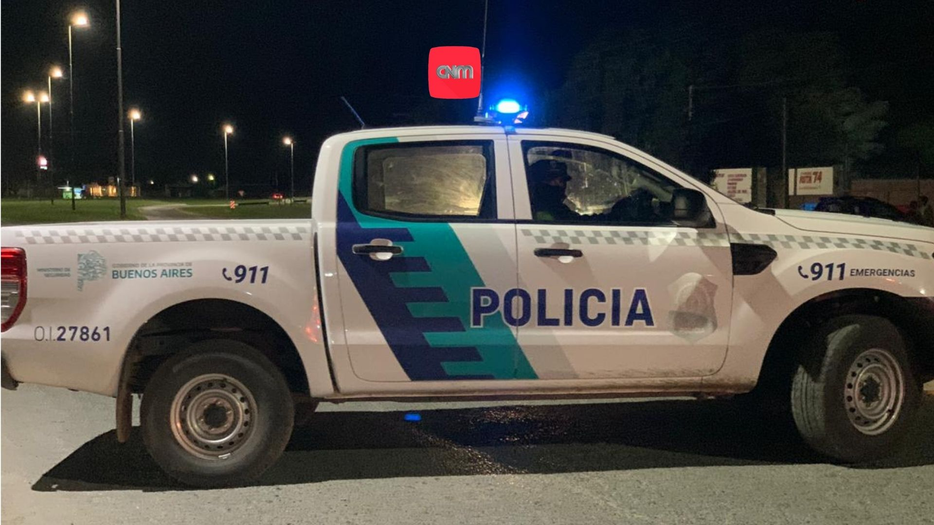 Patrulla bonaerense 2021 - Movil Policial Madariaga