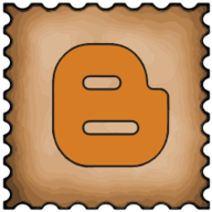 blogger stamp icon