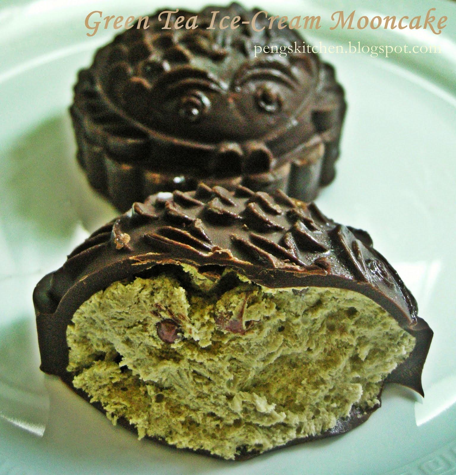 peng s kitchen green tea ice cream mooncake