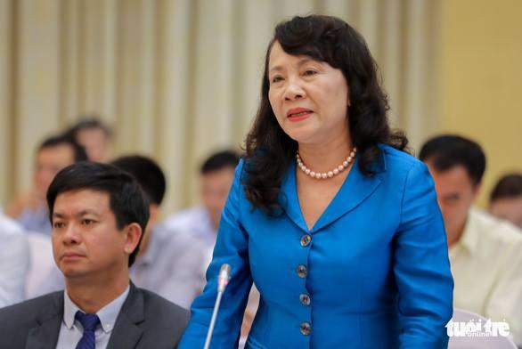 Bà Nguyễn Thị Nghĩa – thứ trưởng Bộ Giáo dục đào tạo