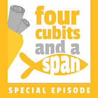 Cover logo for four cubits and a span podcast special episodes