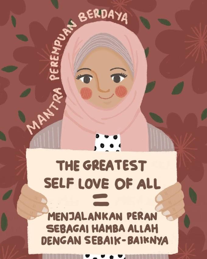 Meramu Cinta Untuk Diri Sendiri