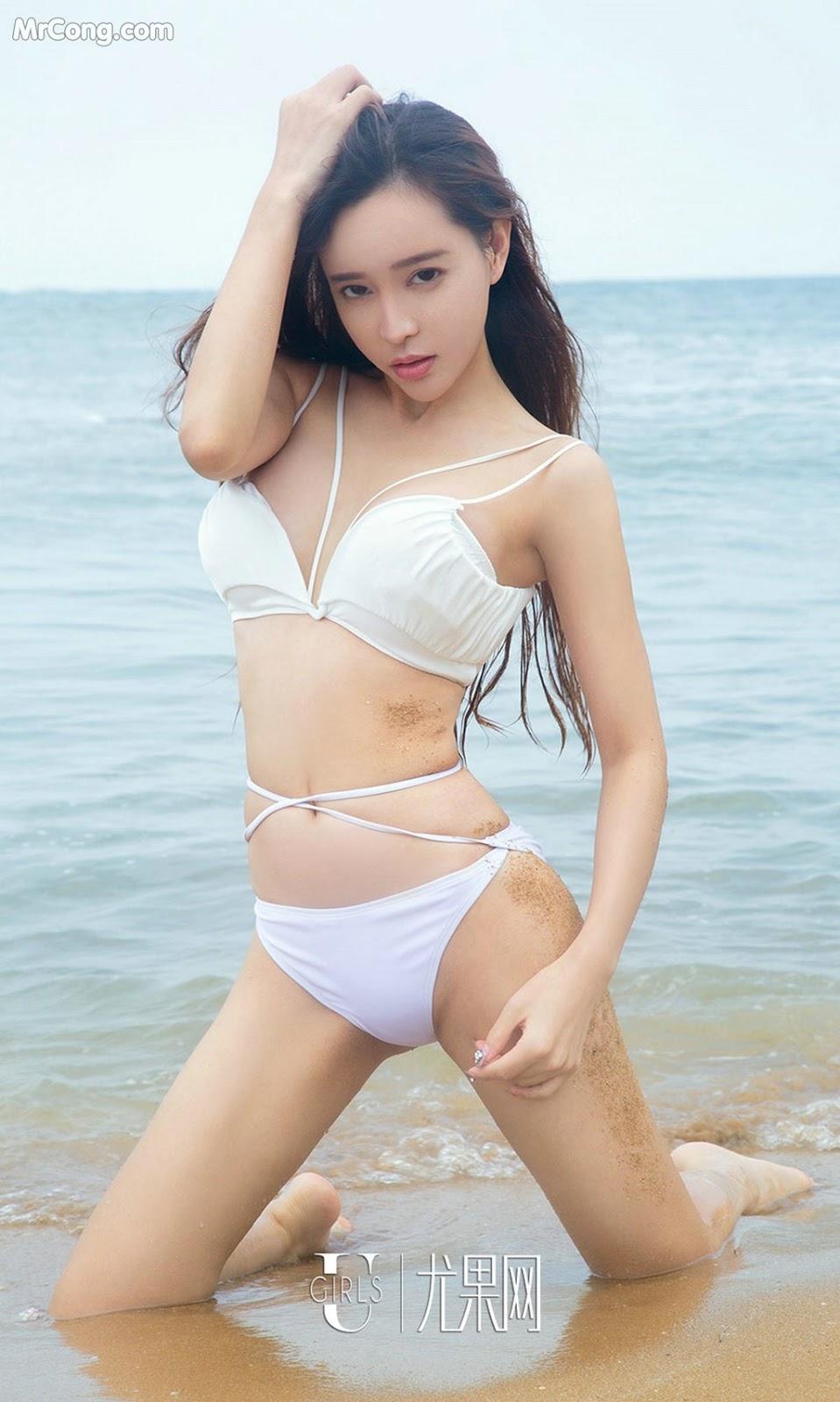 Image UGIRLS-Ai-You-Wu-App-No.857-Ai-Xiao-Qing-MrCong.com-014 in post UGIRLS – Ai You Wu App No.857: Người mẫu Ai Xiao Qing (艾小青) (40 ảnh)