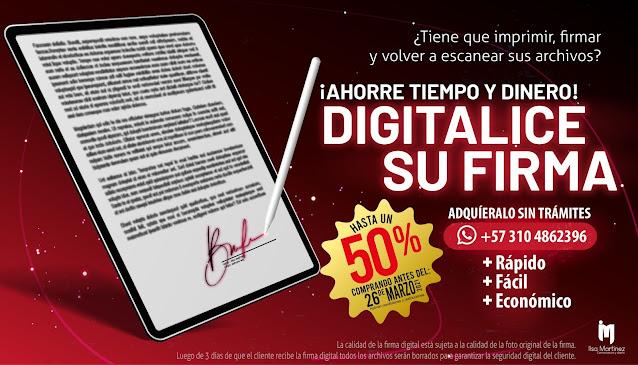 PROMOCIÓN ESPECIAL: Firma digital